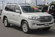 2016 Toyota Landcruiser VDJ200R VX Crystal Pearl 6 Speed Sports Automatic Wagon Monkland Gympie Area Preview