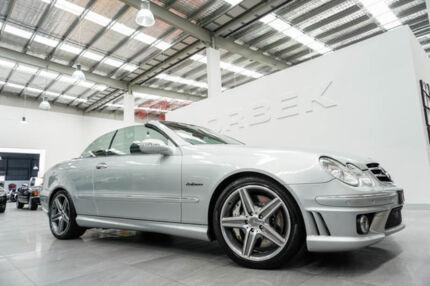 2006 Mercedes-Benz CLK63 C209 AMG Silver 7 Speed Automatic G-Tronic Cabriolet Port Melbourne Port Phillip Preview