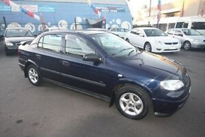 2000 Holden Astra TS MY2001 City Blue 4 Speed Automatic Sedan Kingsville Maribyrnong Area Preview