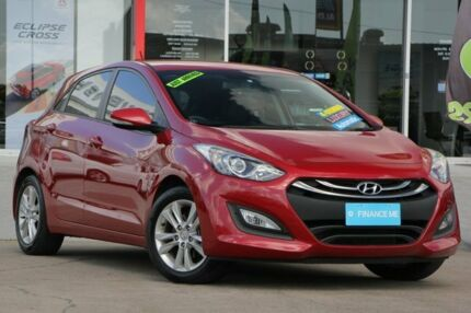 2014 Hyundai i30 GD2 MY14 SE Red 6 Speed Sports Automatic Hatchback Kippa-ring Redcliffe Area Preview