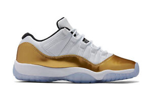 Air Jordan Retro XI 11 Low CLOSING CEREMONY Olympic Gold Size:9 Kitchener / Waterloo Kitchener Area image 1