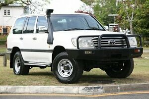 2006 Toyota Landcruiser HZJ105R GXL White 5 Speed Manual Wagon Yeerongpilly Brisbane South West Preview