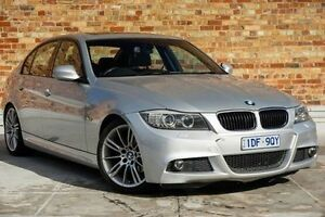 2010 BMW 320i E90 MY10.5 Lifestyle Steptronic Silver 6 Speed Sports Automatic Sedan North Melbourne Melbourne City Preview