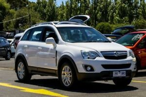 2012 Holden Captiva CG Series II MY12 5 AWD White 6 Speed Sports Automatic Wagon Ringwood East Maroondah Area Preview