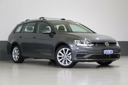 2017 Volkswagen Golf AU MY18 110 TSI Comfortline Grey 7 Speed Auto Direct Shift Wagon