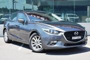 2018 Mazda 3 BN5478 Maxx SKYACTIV-Drive Sport Grey 6 Speed Sports Automatic Hatchback Cardiff Lake Macquarie Area Preview