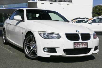 2010 BMW 320D E92 MY11 Steptronic White 6 Speed Sports Automatic Coupe