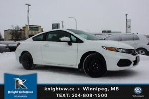 2014 Honda Civic Coupe LX w/Low KM/Winter Tires And Rims