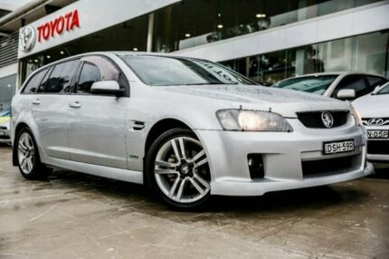 2010 Holden Commodore VE MY10 SV6 Sportwagon Silver 6 Speed Sports Automatic Wagon