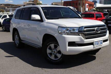 2016 Toyota Landcruiser VDJ200R MY16 GXL (4x4) Glacier White 6 Speed Automatic Wagon Northbridge Perth City Area Preview