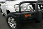2007 Nissan Patrol GU 5 MY07 ST White 5 Speed Manual Wagon Brendale Pine Rivers Area Preview
