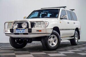 1998 Toyota Landcruiser FZJ105R RV White 5 Speed Manual Wagon Edgewater Joondalup Area Preview