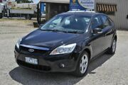2009 Ford Focus LX TDCi LV Black 4 Speed Automatic Hatchback Delacombe Ballarat City Preview