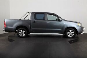 2006 Toyota Hilux GGN15R SR5 Grey 5 Speed Manual Dual Cab Pick-up