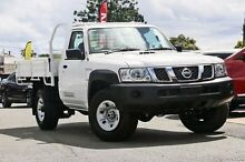 2015 Nissan Patrol MY14 DX (4x4) Polar White 5 Speed Manual Beaudesert Ipswich South Preview