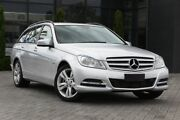 2012 Mercedes-Benz C200 W204 MY12 BlueEFFICIENCY Estate 7G-Tronic + Silver 7 Speed Sports Automatic Osborne Park Stirling Area Preview