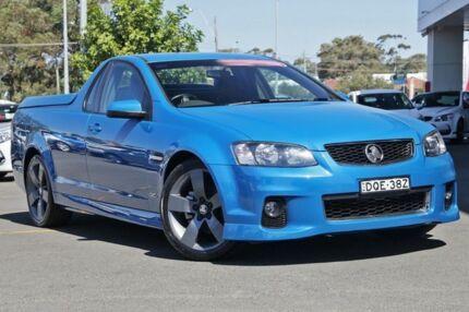 2012 Holden Ute VE II MY12.5 SV6 Z Series Blue 6 Speed Manual Utility