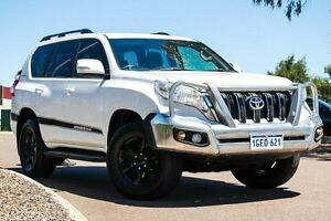 2013 Toyota Landcruiser Prado KDJ150R MY14 GXL White 5 Speed Sports Automatic Wagon East Rockingham Rockingham Area Preview