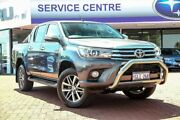 2015 Toyota Hilux GUN126R SR5 Double Cab Grey 6 Speed Sports Automatic Utility Maddington Gosnells Area Preview