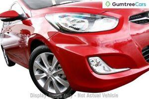 2011 Hyundai Accent RB Elite Grey 4 Speed Sports Automatic Sedan