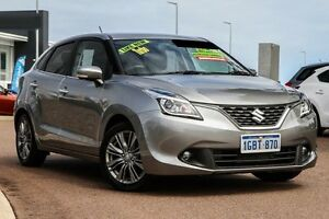 2016 Suzuki Baleno EW GLX Turbo Premium Silver 6 Speed Sports Automatic Hatchback East Rockingham Rockingham Area Preview