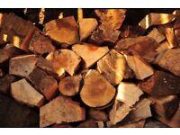 Logs Seasoned Hardwood £50 delivered