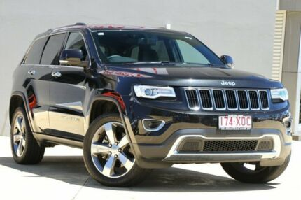 2016 Jeep Grand Cherokee WK MY15 Limited Black 8 Speed Sports Automatic Wagon Yeerongpilly Brisbane South West Preview