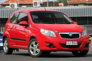 2010 Holden Barina TK MY10 Red 5 Speed Manual Hatchback Wavell Heights Brisbane North East Preview