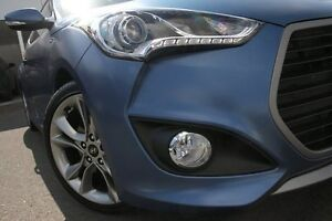 2015 Hyundai Veloster FS4 Series II SR Turbo + Blue Spirit 7 Speed Sports Automatic Dual Clutch Wolli Creek Rockdale Area Preview