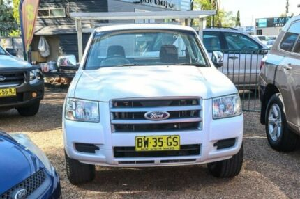 2007 Ford Ranger PJ XL White 5 Speed Manual Cab Chassis Minchinbury Blacktown Area Preview