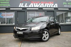 2010 Holden Cruze JG CD Black 6 Speed Auto Sports Mode Sedan Barrack Heights Shellharbour Area Preview