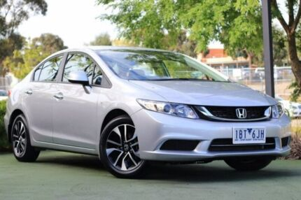 2014 Honda Civic 9th Gen Ser II MY14 VTi-S Silver 5 Speed Sports Automatic Sedan