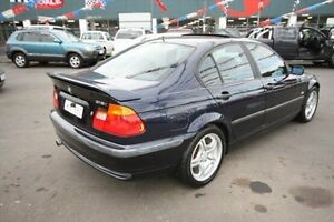 1999 BMW 318I E46 E46 Blue 4 Speed Auto Steptronic Sedan Kingsville Maribyrnong Area Preview