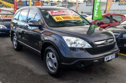 2007 Honda CR-V RE MY2007 4WD Grey 6 Speed Manual Wagon Ringwood East Maroondah Area Preview