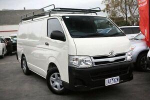 2013 Toyota Hiace White Automatic Van Frankston Frankston Area Preview