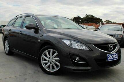 2012 Mazda 6 GH1052 MY12 Touring Grey 5 Speed Auto Seq Sportshift Wagon Craigieburn Hume Area Preview