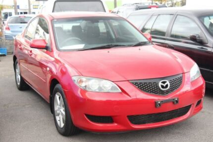 2004 Mazda 3 MAXX with RWC & REG Red 5 Speed Manual Sedan Cheltenham Kingston Area Preview