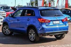 2016 Mitsubishi ASX XB MY15.5 LS 2WD Blue 6 Speed Constant Variable Wagon Wilson Canning Area Preview