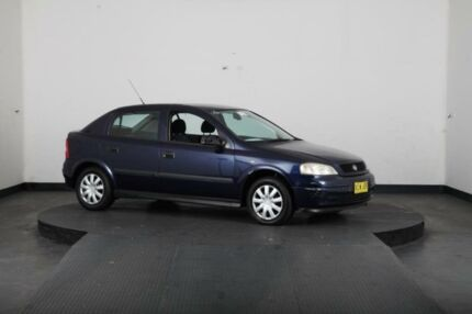 2001 Holden Astra TS City Blue 5 Speed Manual Hatchback Greenacre Bankstown Area Preview