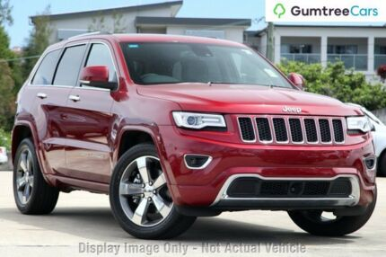 2014 Jeep Grand Cherokee WK MY2014 Overland Red 8 Speed Sports Automatic Wagon