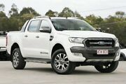 2016 Ford Ranger PX MkII Wildtrak Double Cab White 6 Speed Sports Automatic Utility Springwood Logan Area Preview