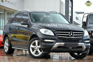 2012 Mercedes-Benz ML250 W166 BlueTEC 7G-Tronic + Obsidian Black 7 Speed Sports Automatic Wagon Nedlands Nedlands Area Preview