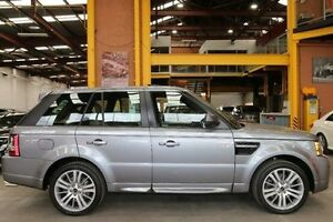 2011 Land Rover Range Rover Sport L320 12MY SDV6 CommandShift Luxury Grey 6 Speed Sports Automatic Southbank Melbourne City Preview