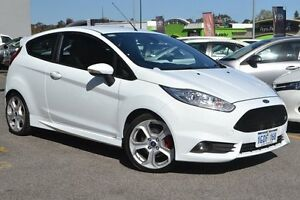 2014 Ford Fiesta WZ ST ECOBOOST White 6 Speed Manual Hatchback Claremont Nedlands Area Preview