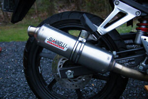 Exhaust stainless CBR 125 2008