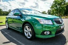 2011 Holden Cruze JH SRi Green 6 Speed Automatic Sedan Wetherill Park Fairfield Area Preview
