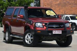 2011 Holden Colorado RC MY11 LT-R Crew Cab Red 5 Speed Manual Utility Toowoomba Toowoomba City Preview