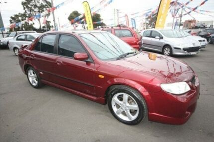 2002 Mazda 323 BJ II-J48 SP20 Red 4 Speed Automatic Sedan