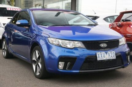 2009 Kia Cerato TD MY10 Koup Blue 5 Speed Manual Coupe