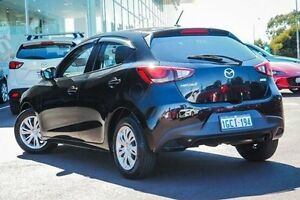 2015 Mazda 2 DJ2HAA Neo SKYACTIV-Drive Black 6 Speed Sports Automatic Hatchback East Rockingham Rockingham Area Preview